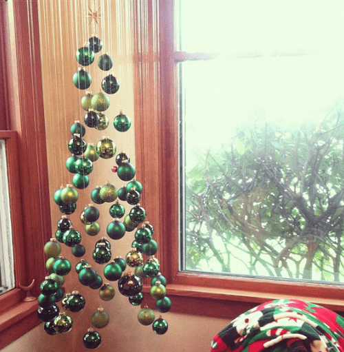 Suspended Christmas Tree