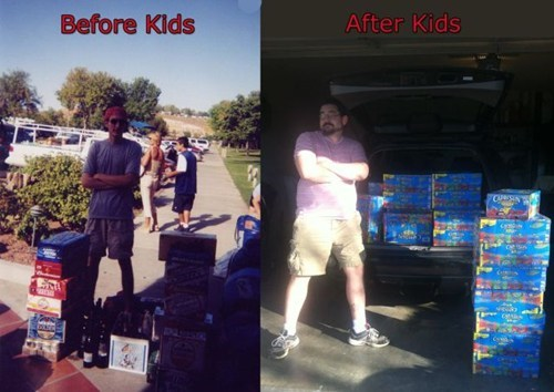 beer,capri sun,Before And After,g rated,Parenting FAILS