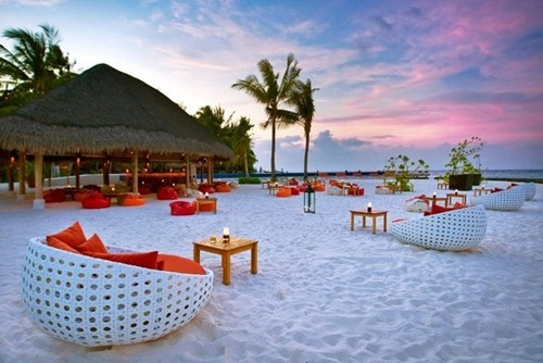 hotel,Kuramathi Island,sunset,beaches