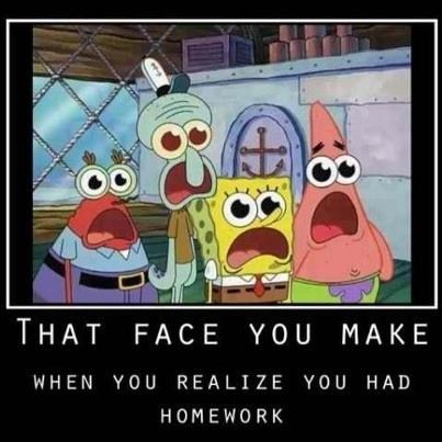 shock,face,Sponge Bob Squarepants