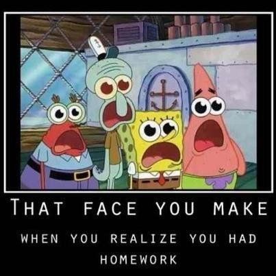 shock face Sponge Bob Squarepants - 6892229376