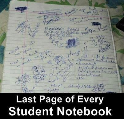 student doodles notebook - 6892253184