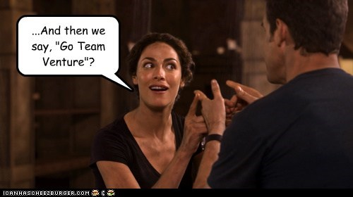 pete latimer,go team venture,warehouse 13,eddie mcclintock,myka berring,joanne kelly