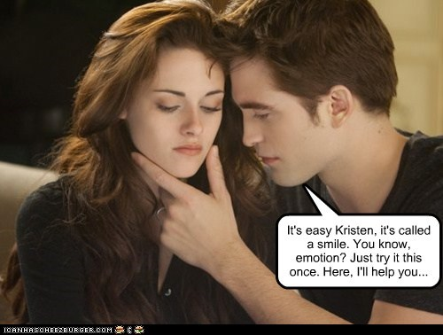kristen stewart easy facial expressions robert pattinson emotion try it - 6892919296