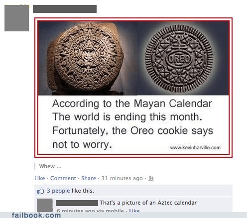 mayan calendar apocalypse oreo oreo cookie - 6892998912
