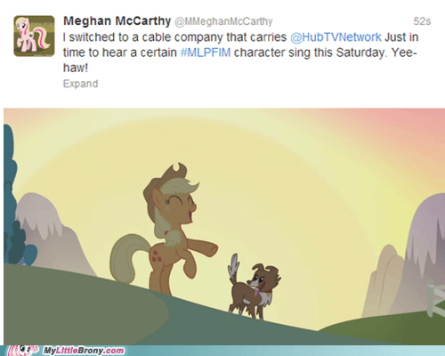 applejack the hub singing end of the world meghan mccarthy - 6893612544