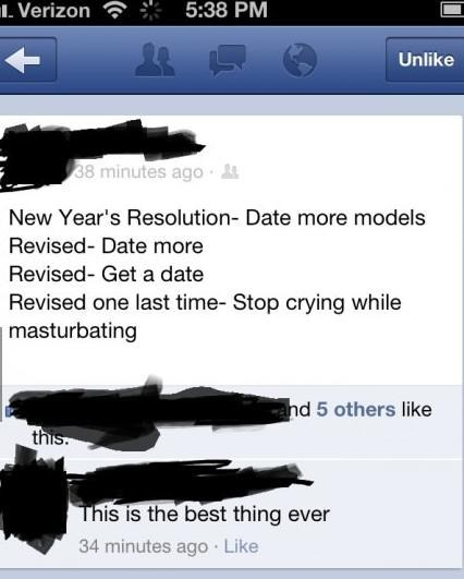models,new years resolution,date more,crying,dating fails