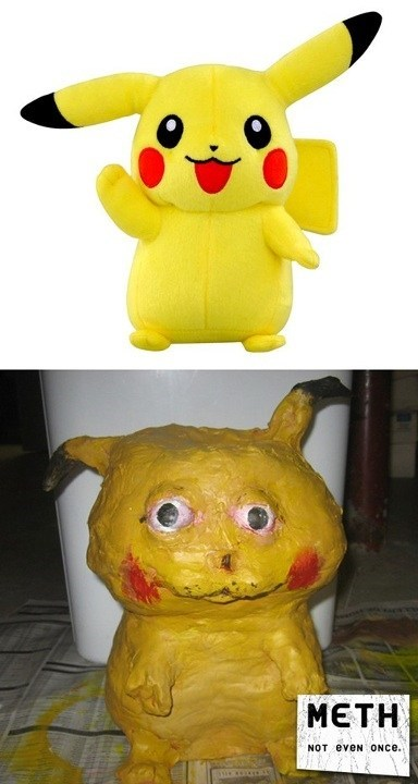 Not Even Once,drugs,meth,pikachu