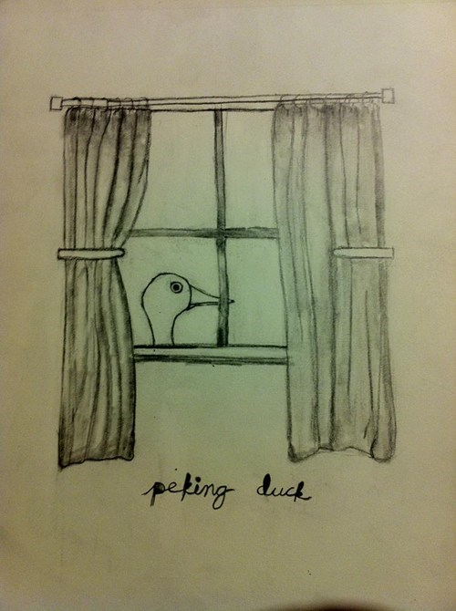 peeking duck literalism peking duck homophone double meaning peking - 6893908224