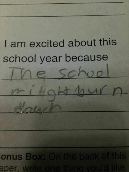 probably dumb school student burn - 6893911040