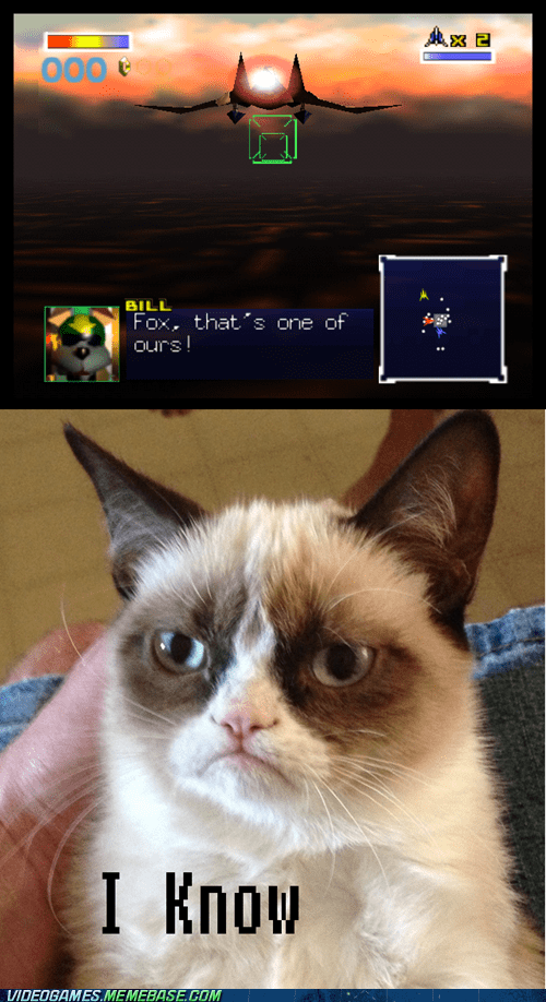 Star Fox,Memes,Grumpy Cat,tard