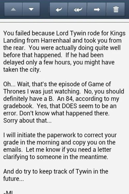 error,FAIL,Game of Thrones,tywin,teacher,b