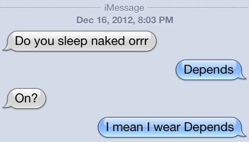 depends sleep naked iPhones - 6893978368