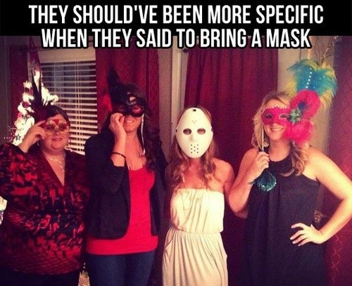 specific,creepy,mask,parties