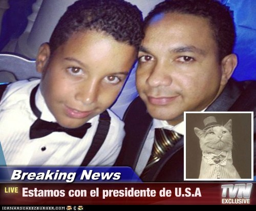 Breaking News - Estamos con el presidente de U.S.A