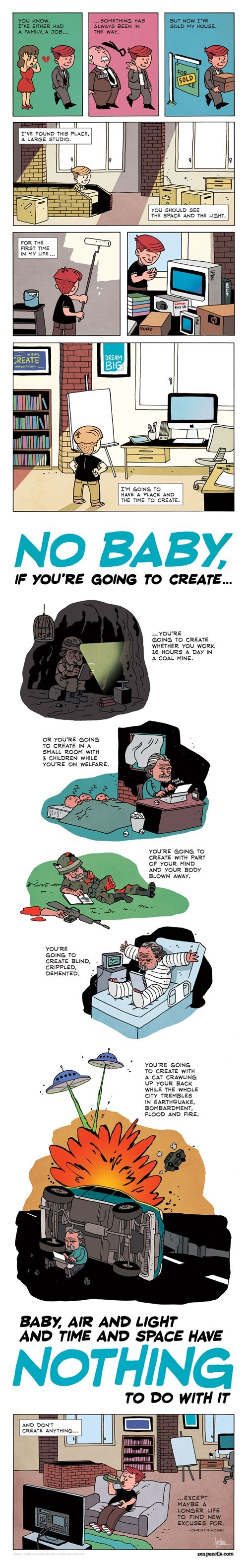 art amazing creation zen pencils - 6894016000