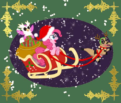 christmas crossover Pokémon pinkie pie - 6894064896