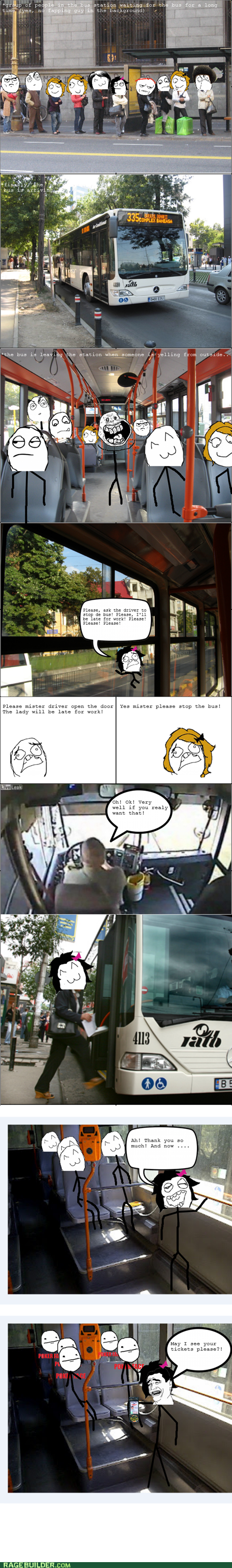 bus rage,taking the bus,metro bus,bus