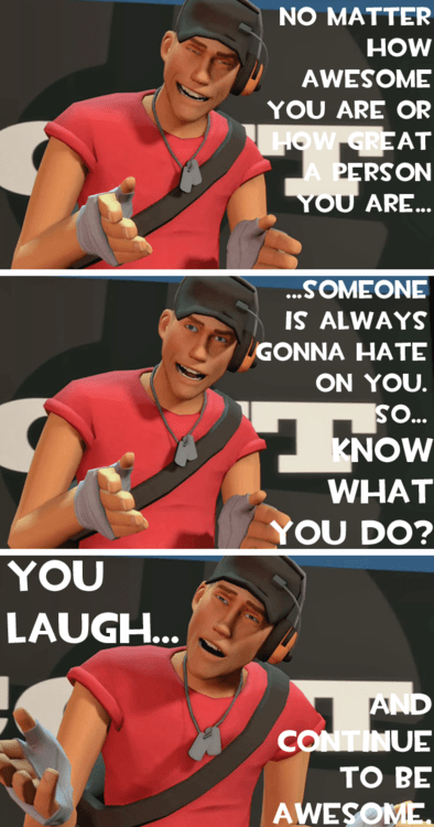 PC Team Fortress 2 scout being awesome - 6894124544