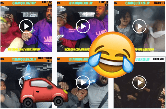 Music list instagram driving parenting reaction Video win - 689413