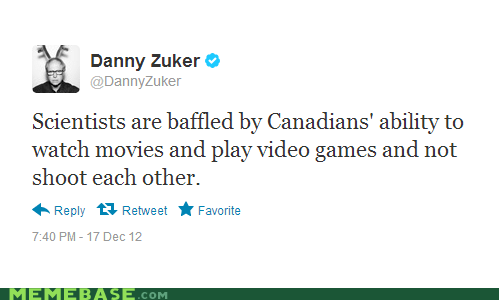Canada,twitter,movies,video games