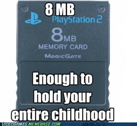 memory card,Sony,nostalgia,playstation 2
