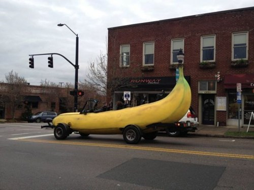 car banana fruit - 6894182912