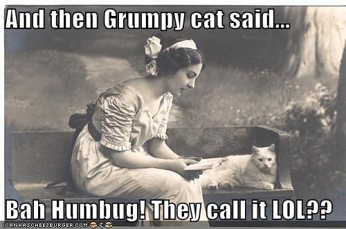 cat lol book story Grumpy Cat - 6894272768