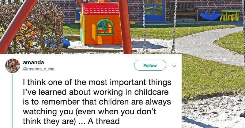 daycare twitter helpful parenting social media viral win - 6894341