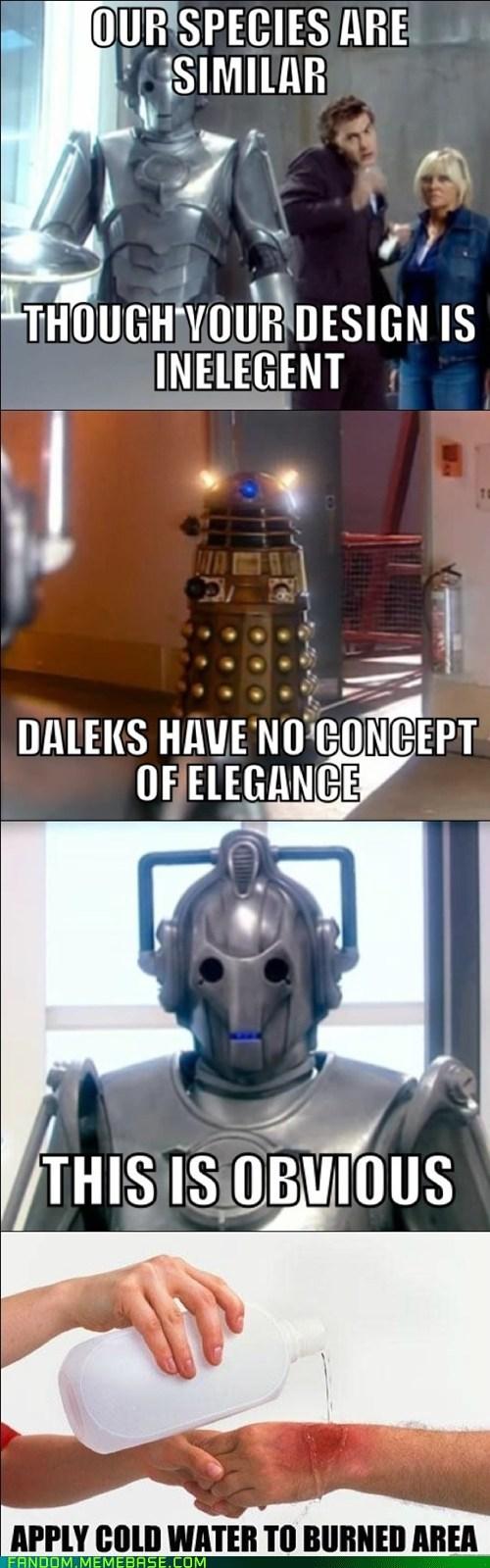 dalek cybermen doctor who - 6894542336