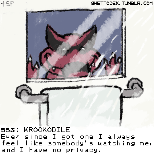 pokedex,krookodile,creepy