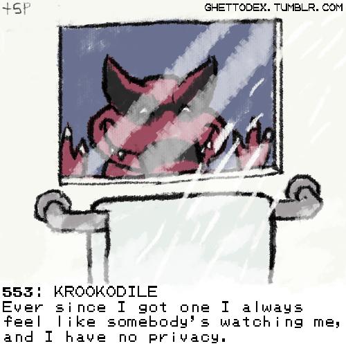 pokedex krookodile creepy - 6894544384