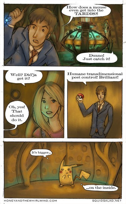 crossover Pokémon Fan Art doctor who - 6894553600