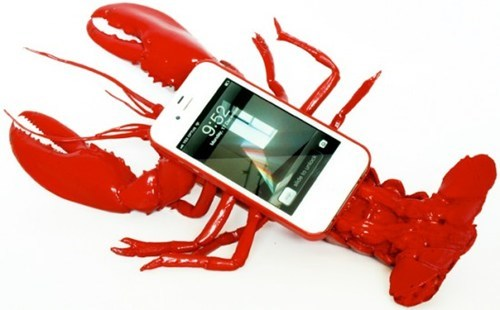 lobster,case,plastic,iphone