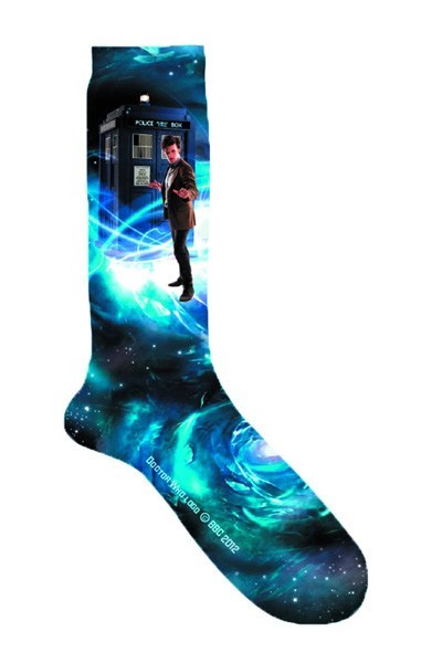 socks tardis doctor who