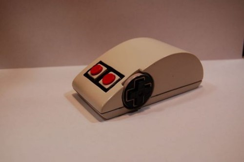 one of a kind custom computer nintendo mouse - 6894623488