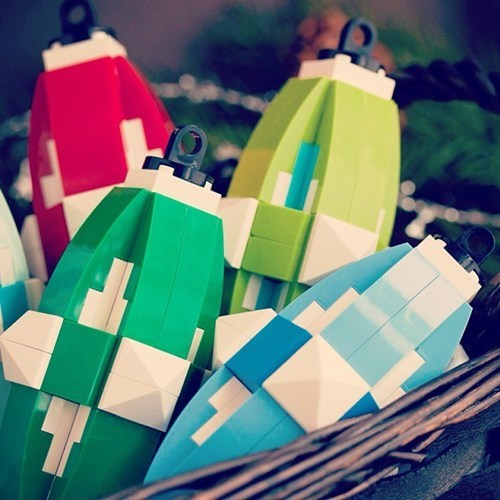 christmas lego ornaments DIY tree - 6894625792