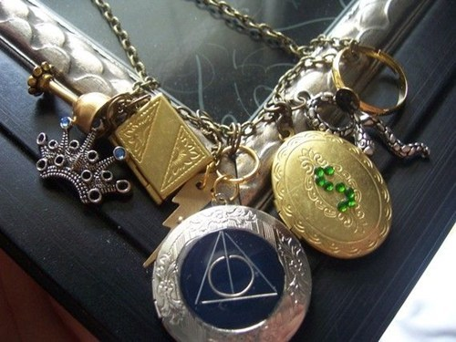 pendants necklace Harry Potter horcruxes Jewelry - 6894638592