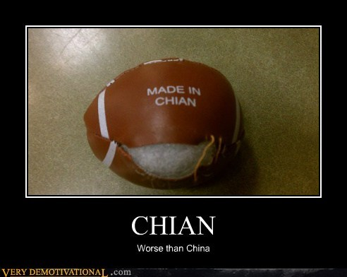 CHIAN Worse than China