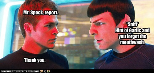 Captain Kirk Spock Zachary Quinto breath Star Trek report chris pine - 6895528704