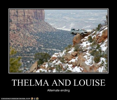 THELMA AND LOUISE Alternate ending