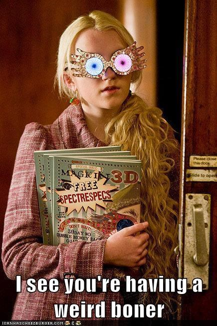 evanna lynch,Harry Potter,luna lovegood,i have the weirdest boner
