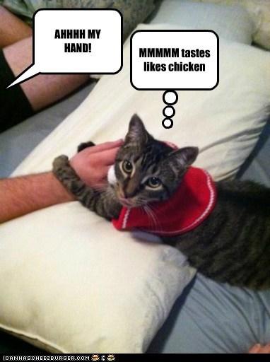 AHHHH MY HAND!