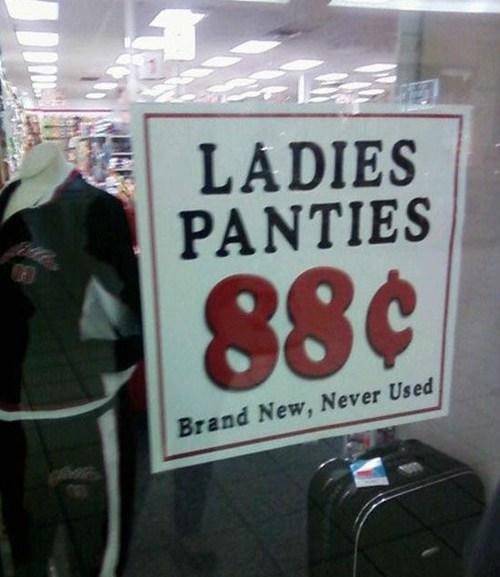 panties,sale