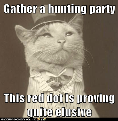 red dot hunting Aristocat - 6897573120