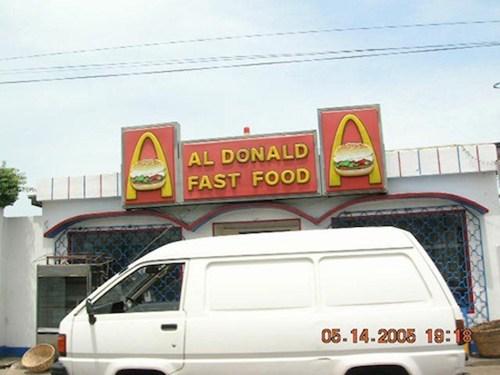 al donald McDonald's fast food - 6897697536
