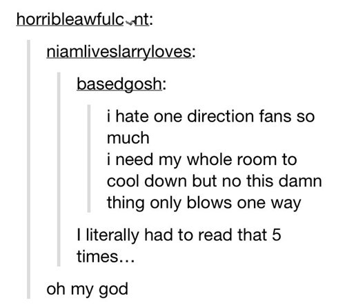 one direction,Twist Ending,text,literalism,fans