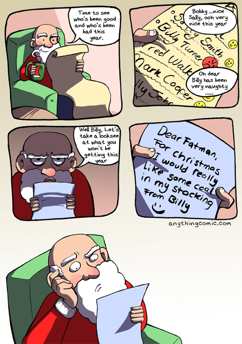 christmas comic santa funny holidays - 6898139392