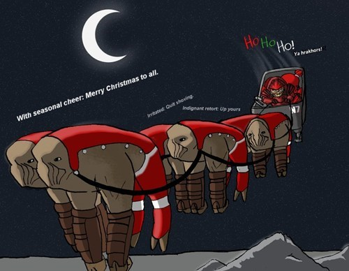 christmas reindeer mass effect elcor boxing day - 6898194176