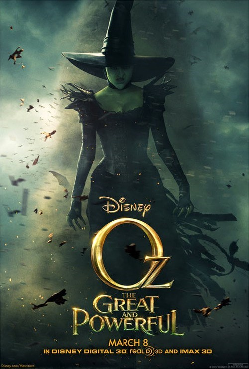 teaser,disney,poster,Movie,oz the great and powerful